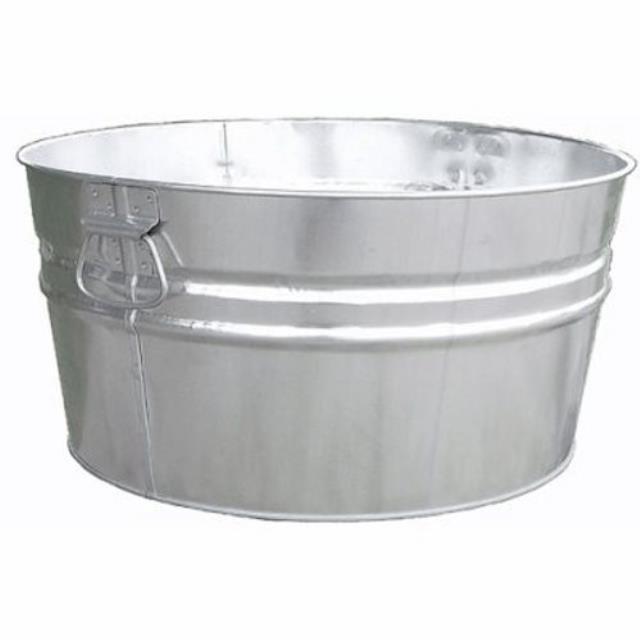 Where to find 15 Gallon Round Galvanized Tub in Atlanta