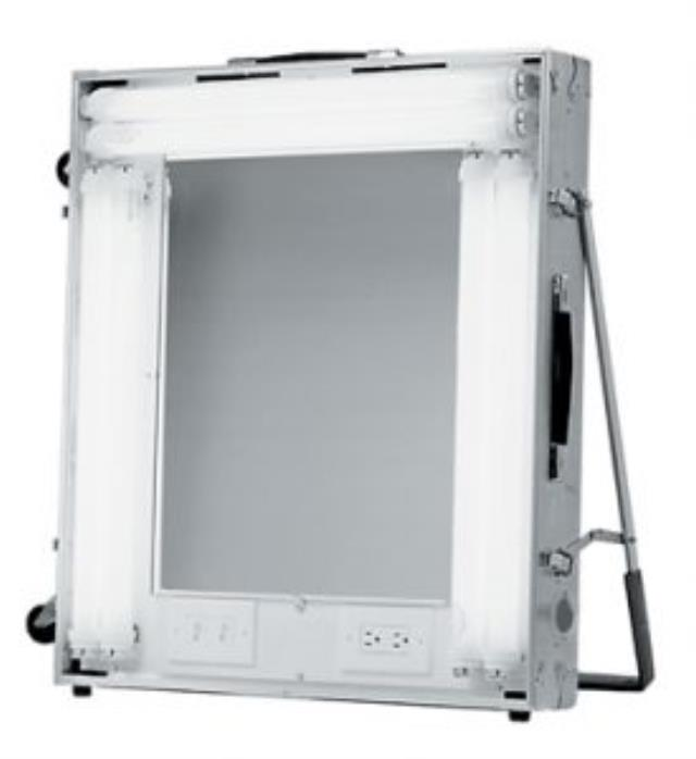 Where to find Lighted Make-Up Mirror w Outlet in Atlanta