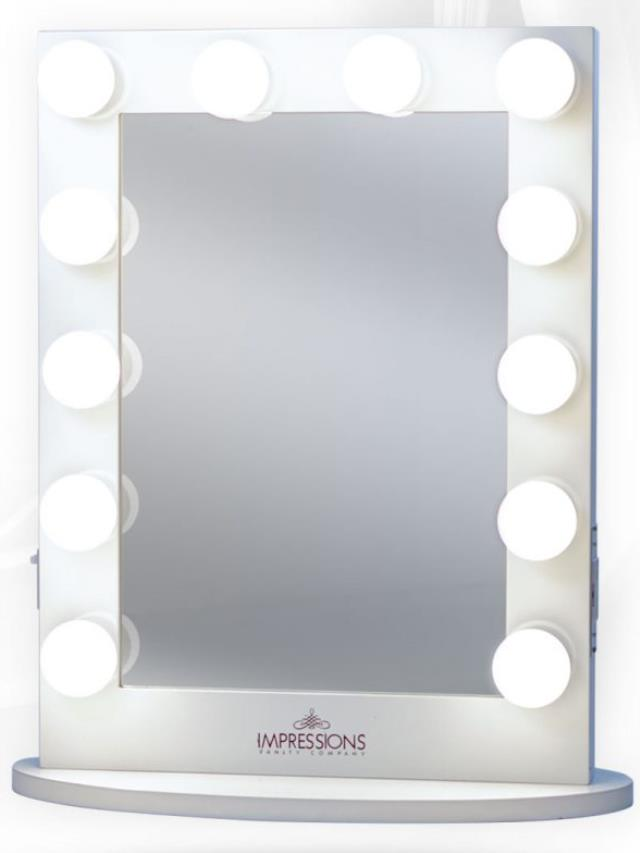 Where to find XL Vanity Mirror Kit with  12  LED Bulbs in Atlanta