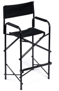 Rental store for EZ UP Director s Chair - Tall Black in Atlanta GA