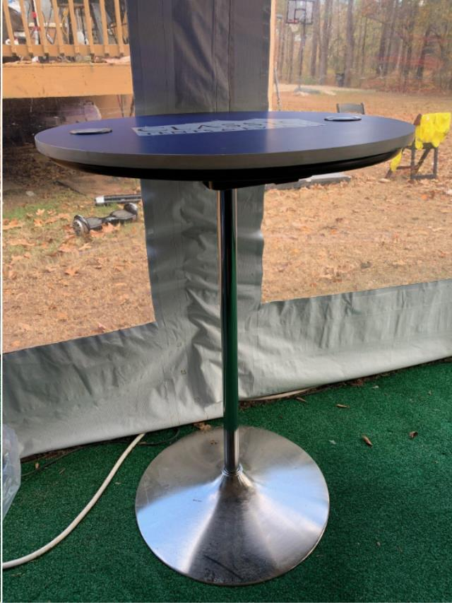 Where to find Wireless Charging Cocktail Table in Atlanta