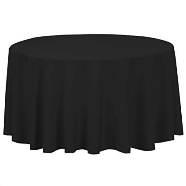 Where to find Black Table Linen in Atlanta