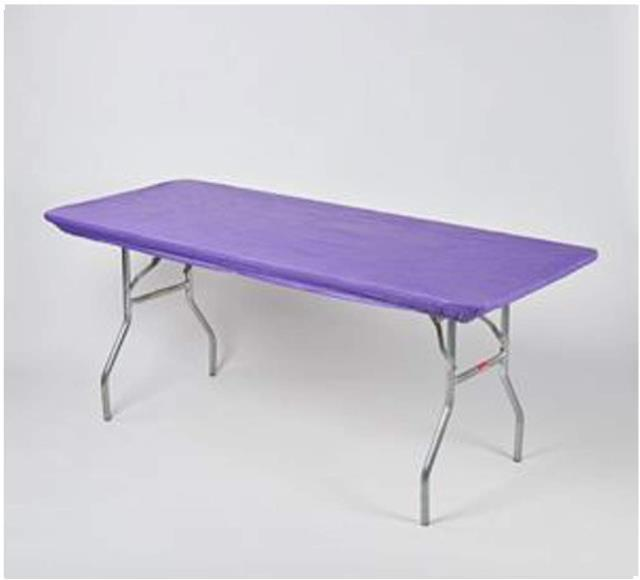 Where to find Purple Kwik Table Cover in Atlanta