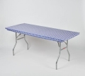 Rental store for Blue Gingham Kwik Table Cover in Atlanta GA