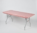 Rental store for Red Gingham Kwik Table Cover in Atlanta GA