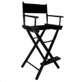 Rental store for Solid Black Tall Director s Chairs in Atlanta GA