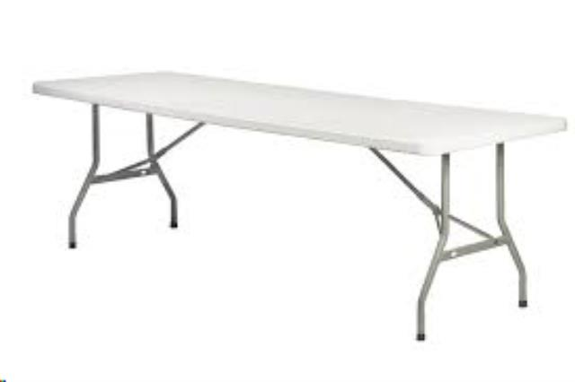 Where to find 8  Plastic Banquet Table in Atlanta